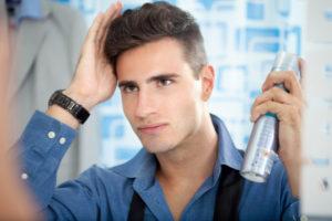 cuidado com cabelo masculino