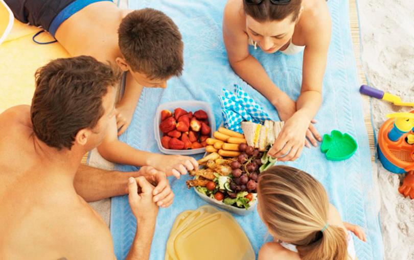 5 dicas de comida para levar para a praia
