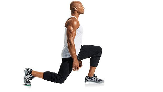The Bodyweight Lunge Challenge