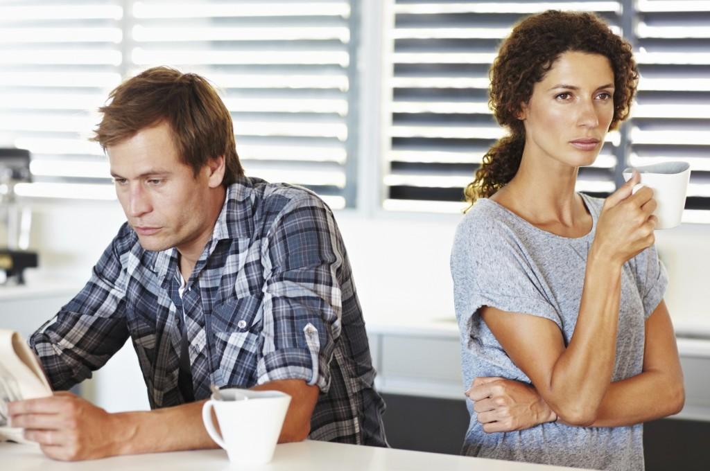 casal infeliz